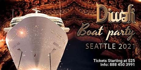 Diwali Boat Party Seattle  | Celebration | Things to Do | Diwali Events tickets