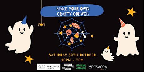 Make Your Own Crafty Cobweb tickets