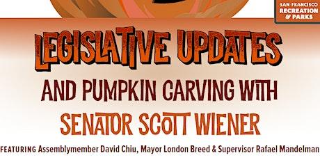 Senator Scott Wiener's Annual Pumpkin Carving tickets