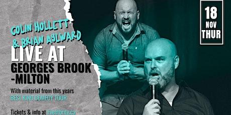 Colin Hollett & Brian Aylward Live in Geroges Brook - Milton tickets