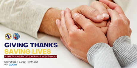 Giving Thanks, Saving Lives tickets