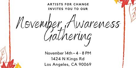 November  Awareness Gathering tickets