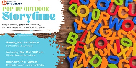 NORTHSIDE Pop Up Outdoor Storytime tickets