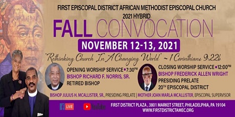 First Episcopal District Fall Convocation tickets