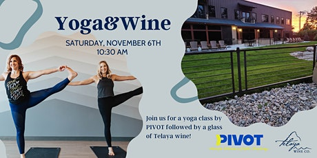 Yoga&Wine with PIVOT tickets