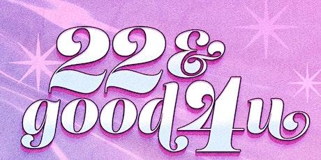 22 & good 4 u! ~~ A Taylor Swift vs. Olivia Rodrigo DANCE Party tickets