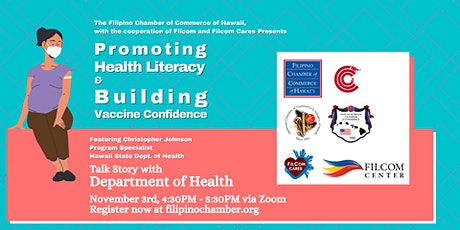 Promoting Health Literacy and Building Vaccine Confidence tickets