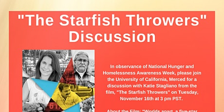 """""""The Starfish Throwers"""" Discussion tickets"""