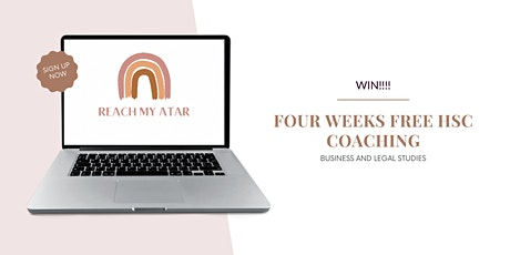 Win 4 Weeks FREE HSC Coaching (Business or Legal Studies) tickets