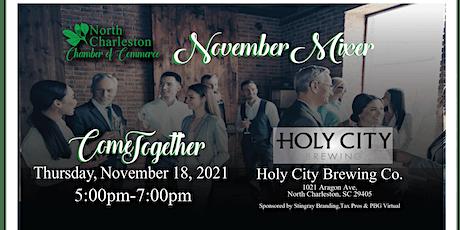 North Charleston Chamber November Mixer! tickets