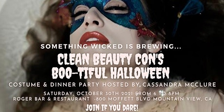 Boo-tiful Halloween Dinner Party Hosted by Clean Beauty  Con tickets