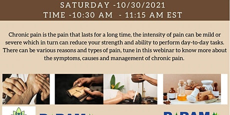 Management Of Chronic Pain by Holistic Care tickets