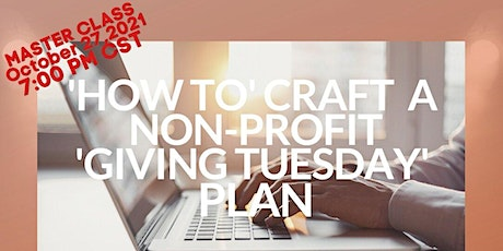 How to Craft a 'Giving Tuesday' Plan That Leads to Donations tickets