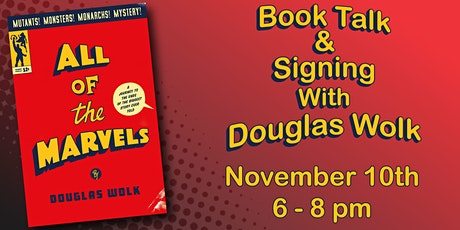 All of The Marvels with Douglas Wolk tickets