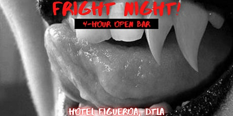 Fright Night at Hotel Figueroa [4 Hour Open Bar] tickets