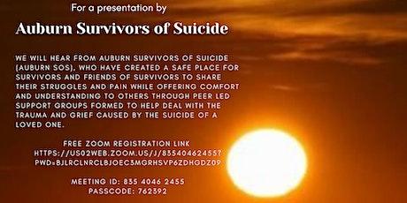 Auburn Survivors of Suicide tickets