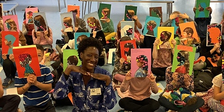 Mindful African self-portrait art workshop with Birungi Kawooya tickets