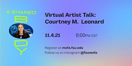 Artist Talk: Courtney M. Leonard tickets