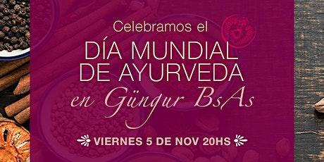 DÍA DE AYURVEDA - Charla + Danzas Clásicas de la India + Cena vegetariana entradas