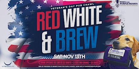 San Diego Veterans Day Pub Crawl Party tickets