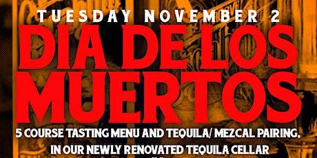 El Cortez 5 Course Menu + Tequila Pairing - Dia de los Muertos tickets