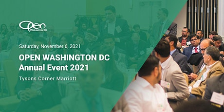 OPEN DC 2021 Annual Event tickets