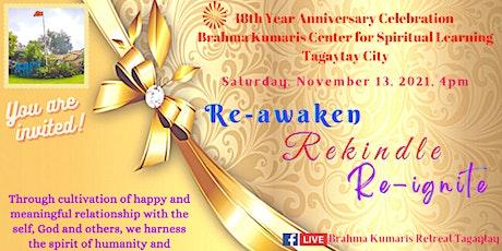 Re-awaken. Rekindle. Re-ignite. tickets
