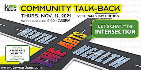 Community Talk-Back #3: The Impact of the Arts on Mental Health & Wellbeing tickets