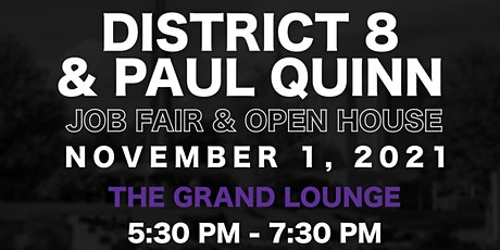 Paul Quinn College Community Job Fair and Open House tickets