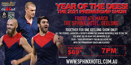 The 2021 Premiership Show feat Petracca, Goody and Gawn LIVE! tickets