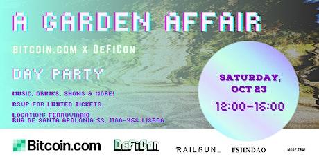 A Garden Affair - Day Party bilhetes