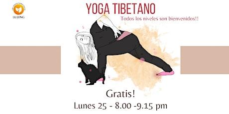 Descubre el Yoga Sanador Tibetano entradas