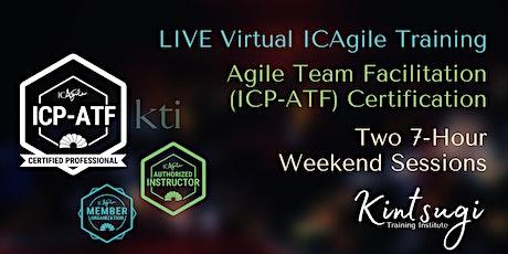 Mastering the Art of Facilitation through Agile Team Facilitation (ICP-ATF) tickets