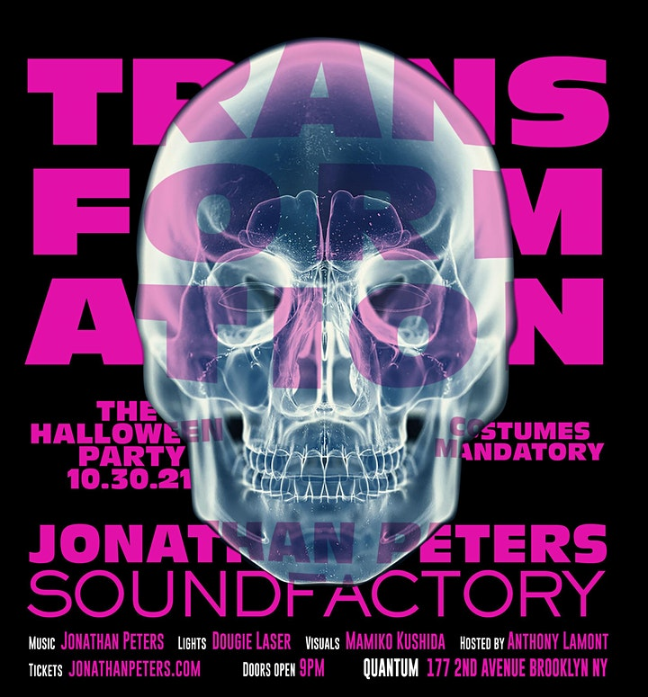 SOUNDFACTORY HALLOWEEN & DJ JONATHAN PETERS image