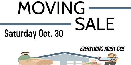Moving Sale tickets