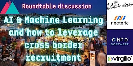 AI & ML and how to leverage cross border recruitment / Web Summit '21 bilhetes