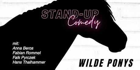 Stand-up Comedy am Sonntag • F-Hain • 20 Uhr   WILDE PONYS Tickets