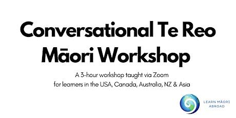 Conversational Te Reo Māori Workshop tickets