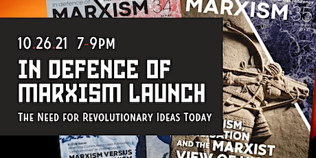 In Defence of Marxism Magazine Launch tickets