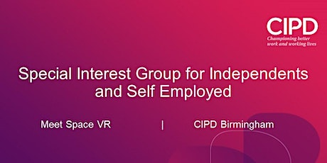 Independents SIG - How Virtual Reality can enhance your HR and L&D practice tickets