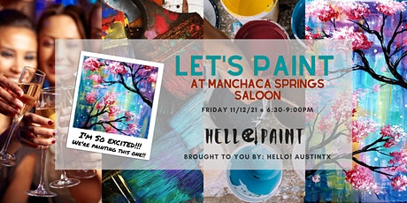 PAINT @ Manchaca Springs Saloon 2nd Friday tickets