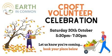 Earth in Common Volunteer celebration 2021 tickets