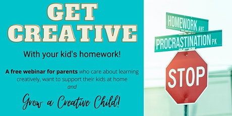 FREE EVENT - Get creative with your kids homework! tickets