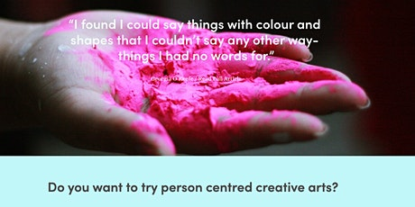 FREE taster session of Person Centred Creative Arts Therapy tickets