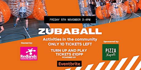 Zubaball - 1 hr Bubble Football Experience - Weymouth tickets