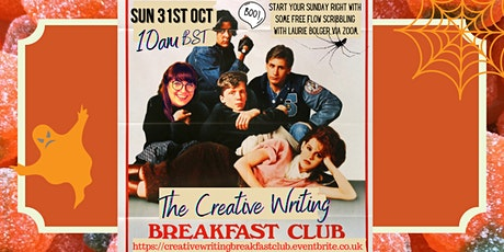 The Creative Writing Breakfast Club Sunday 31st October 2021 tickets