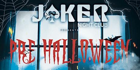 Pre Halloween entradas