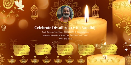 Diwali 2021Celebrate Light 5 Days of Celebrations, Blessings & Empowerments tickets