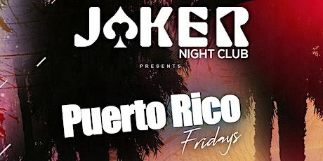 Puerto Rico Fridays entradas