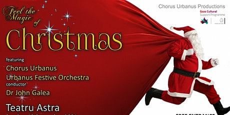 Feel the Magic of Christmas tickets